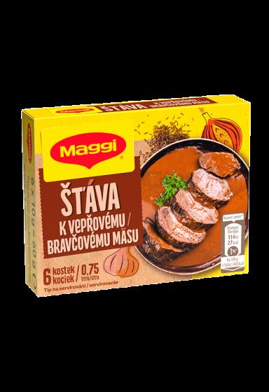 MAGGI Šťava k bravčovému mäsu v kocke 0,75 l
